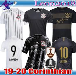 Jersey brazil thai online shopping - Thai quality Brazil Corinthian Paulista Soccer Jersey CLAYTON JADSON ROMERO PABLO M GABRIEL third Football Jerseys Shirt