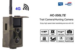 Gps Hd Australia - 4G 16MP HD 1080P Game Trail Cameras Motion Activated Waterproof IP65 GPS FTP 16MP Email MMS GSM Photo traps