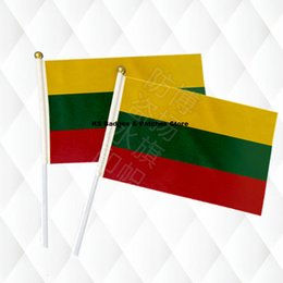 $enCountryForm.capitalKeyWord Australia - Lithuania Hand Held Stick Cloth Flags Safety Ball Top Hand National Flags 14*21CM 10pcs a lotLesotho