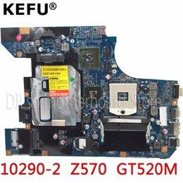 Venta al por mayor de KEFU 10290-2 48.4PA01.021 LZ57 MB placa madre original para Lenovo Z570 B570 Placa base para portátil Prueba de Z570 GT520M