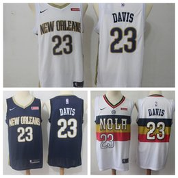 3d634d1559b 2019 City Earned Edition Anthony 23 Davis Jersey Men New Orleans Basketball  Pelicans 11 Jrue Holiday Jerseys Navy Blue Purple White