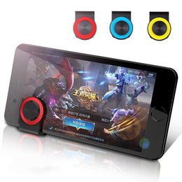 stick mini games NZ - 3 colors Game Mini Stick Tablet Joystick Joypad for Andriod iPhone Touch Screen Mobile Cell Phone r20