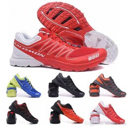 S lab online shopping - New Salm S lab Sense M Running Sneakers High Quality Mens Shoes New Fashion Athletic Running Sports Outdoor Hiking Shoes