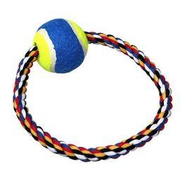 $enCountryForm.capitalKeyWord NZ - Pets Toys O Word Bring Tennis Cotton Rope Toys Pets Gnaw Toys Bring Tennis