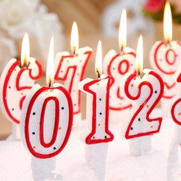 Children Birthday Candles Cake Party Decorations 1pcs Price Adults Kids 0 9 Number 1 2 3 4 5 6 7 8 Decor Supply