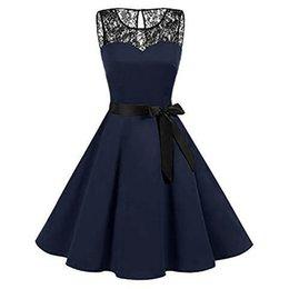 Gothic Style Clothes Australia - Plus Size Summer Women Midi Dress 2018 Gothic Print Sleeveless Ladies Lace Dresses Vintage Party Dress Women Clothes Vestidos Y181227
