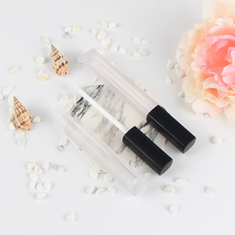 Discount free lip samples Frosted Empty DIY Lip Gloss Bottle 4ml Mini Sample Lipstick Tubes Cosmetic Cream Eyelashes Primer Containers 20pcs lot F