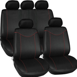 $enCountryForm.capitalKeyWord Australia - Freeshipping Auto Interior Accessories Car Seat Covers Styling Universal Car Seat Protector Seat Cushion 9PCS set automobiles Mud Storage Ba