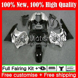 1996 cbr green black fairing Australia - Body For HONDA CBR 893RR Silvery black CBR900RR CBR893RR 94 95 96 97 71MT4 CBR 893 CBR900 CBR893 RR 1994 1995 1996 1997 Fairing Bodywork