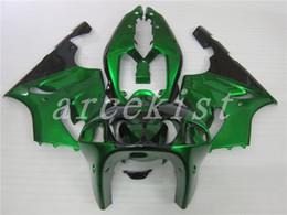 $enCountryForm.capitalKeyWord Australia - New Full fairings kit set Fit For KAWASAKI NINJA ZX-7R ZX7R ZX 7R 1996 1997 1998 1999 2000 2001 2002 2003 ABS Fairing custom green black