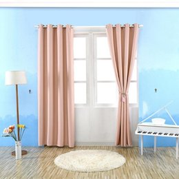 modern grommet curtains Australia - Modern Blackout Curtains for Window Treatment Blinds Finished Drapes Window Curtains for Living Room Bedroom Blinds Curtain
