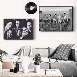 $enCountryForm.capitalKeyWord Australia - Friends TV Series Movie Art Canvas Art Print Painting Modern Wall Picture Home Decor Bedroom Decorative Posters No Frame Cuadros