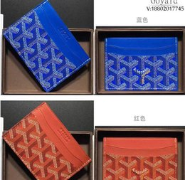 Spandex open online shopping - European style stereo high quality leather gy wallet card more letter credit card bus card package with the box