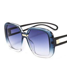 e37419e627e Trendy Eyeglasses Australia - 2019 Popular Oversized Sunglasses Luxury  Brand Fashion Gradient Eyewear Designer Shield Sunglasses