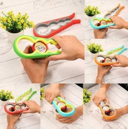 Plastic wrenches online shopping - 4 in Can Opener Multi function Kitchen Bottle Wrench Screw Cap Gourd shaped Plastic ABS Jar Opener