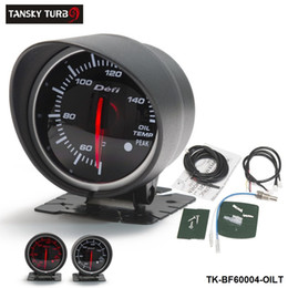 $enCountryForm.capitalKeyWord Australia - Tansky Cars   Vehicle Meter   Gauge Defi 60mm OIL TEMP GAUGE original color box Black Bracket light:red,white TK-BF60004-OILT