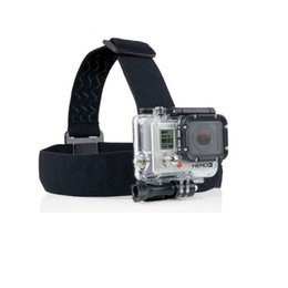 head mounts for action camera Australia - Elastic Adjustable Harness Head Strap Mount Belt for GoPro HD Hero 1 2 3 4 5 6 7 SJCAM Black Action Camera Accessories