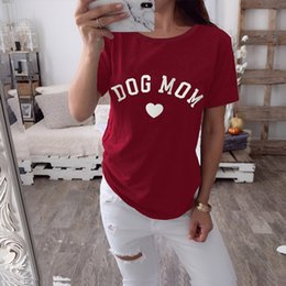 $enCountryForm.capitalKeyWord NZ - Fashion Women Summer T Shirt Solid Short Sleeve Letter Heart Printed O Neck Casual Female Top Tees camisas mujer