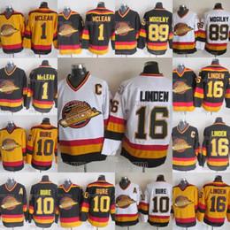 ae43f867fa7 Discount bure jersey - 10 Pavel Bure Vancouver Canucks Hockey Jersey 16  Trevor Linden 89 Alexander