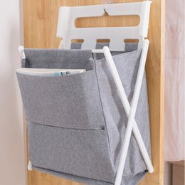 clothes card Australia - Foldable Laundry Storage Bucket Clothes Hamper Sorter Dirty Clothes Bag Children'S Toy Storage Basket Bathroom Storage Bag