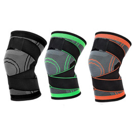 $enCountryForm.capitalKeyWord UK - Unisex Knee Pads Braces Elastic Sports Compression Pad Sleeve Nylon Spandex Pressurized Fitness Running Cycling Protective Tape