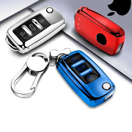 $enCountryForm.capitalKeyWord Australia - Patent TPU Car Auto Remote Key Case Cover Shell for Volkswagen VW Bora Beetle Golf Polo Passat Car Accessories Styling Fashion