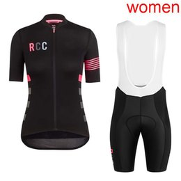 Women lycra clothing online shopping - 2019 pro tour team RCC cycling jersey set Women Summer Bicycle maillot breathable quick dry MTB bike clothing Ropa ciclismo Y032002