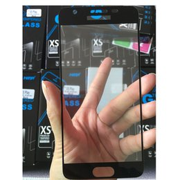 tempered glasses blu UK - 2.5D tempered glass full cover screen protector curved edge with 10in1 package For BLU R1 HD R1 Plus