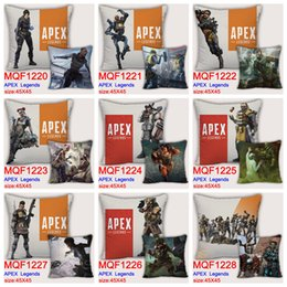 $enCountryForm.capitalKeyWord Australia - 9styles 45*45cm apex legends pillow case cartoon printed game pillow cover pillow cushion home car decor party favor FFA1751