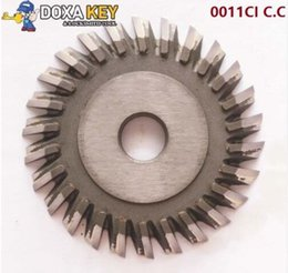 Cutter Angles Australia - 0011CI C.C welded carbide cutter 70mm insrted angle milling cutter for horizontal key cutting machines cutting key