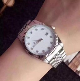 Product Brand Color Australia - Quality Diamond Daydate Designer Watches New Luxury Fashion Brand Product In Men And Women Date New Steel Clock Quartz Watches For Men