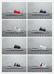 Hot Bar Australia - 2019 hot Suprestar Slide men's outdoor three-bar leisure slippers summer ladies indoor fashion couple casual sandals and slippers 36-44