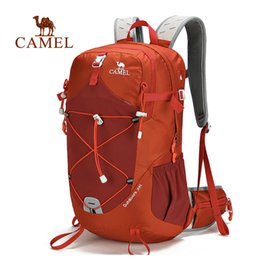 Discount camel outdoor backpack - CAMEL 35L Backpacks Hiking Multi-function Sports Backpack Running Bags Hiking Traveling For Outdoor Backpack For Men&Wom