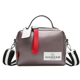 $enCountryForm.capitalKeyWord UK - women's bag large fashion bags ladies luxury bags 2019Double zipper solid color handbag wide shoulder strap black handbag