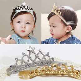 $enCountryForm.capitalKeyWord Australia - Children Accessories New Arrival Glittering Crown Cute Baby Headwear Girls Hair Head Infant Tiara Princess For Chidlren Birthday