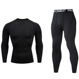 $enCountryForm.capitalKeyWord UK - New Men Shorts Compression Pants Rashguard Fitness Long Sleeve Base Layer Skin Tight Men T Shirts men's sportswear