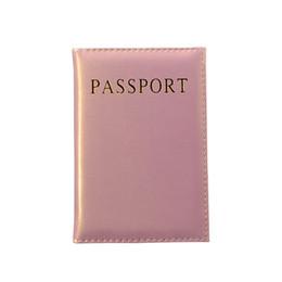 $enCountryForm.capitalKeyWord UK - Hot Cute Passport Cover Women Pink Passport Holder Usa Travel Covers For Passports Girls Cover Passport Case