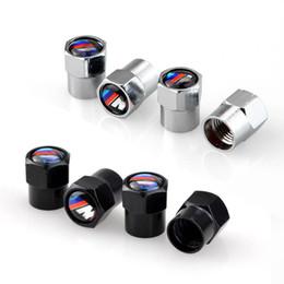venda por atacado Pneus de carro tampões de válvula de pneu parafuso de pneu de pneu de ar de ar de ar capa dustproof para BMW M E39 E36 E60 E3A4 E46 F20 x5 E53 E34 x1