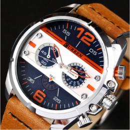 curren analog men watches black 2019 - CURREN Watches Men Luxury Top Quality Army Military Watch Leather Sport Watches Quartz Men Wristwatch Relogio Masculino