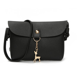 $enCountryForm.capitalKeyWord Australia - Women Shoulder Bag Leather Handbag Female Flap Small Phone Bag Deer Women Messenger Crossbody Handbag Fashion High Quality