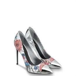 one day dress NZ - Spring and fall fashion catwalks high quality printed stiletto heels one of the must-haves for work banquets andnestones Dress Wedding Shoes