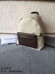 $enCountryForm.capitalKeyWord NZ - Backpack male space silk silk screen detail backpack top full leather handle detachable shoulder strap