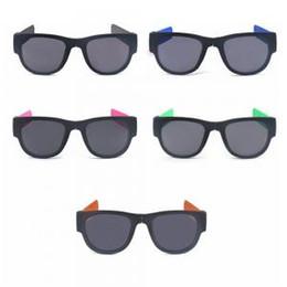 Black shades online shopping - Fold Shades Colorful Bracelet Sunglasses  Slap Polarized Mirror Polarized Fashion Women 57732e0c6101