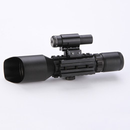 $enCountryForm.capitalKeyWord UK - 2019 NEW Tactical Reflex 3-10x 40 Red   Green Dot Reticle Sight Rifle Scope & Red Laser For 20mm Rail Mount