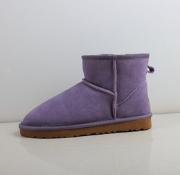 Womens Classic Tall Boots Australia - factory Outlet High Quality WGG Women's Classic Mini Short boots Tall Boots Womens Boot Snow boots Winter Leather boot US SIZE 5---13
