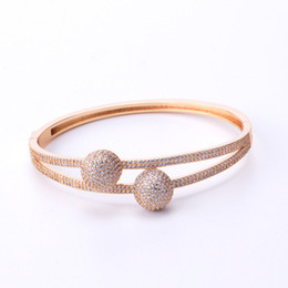 $enCountryForm.capitalKeyWord NZ - Fashion Wedding Rings Top Quality Rigid Bracelet Luxury Rings Classic Bracelets Couples Exquisite Bangles Gold Silver Rose Bangle Lover Gift