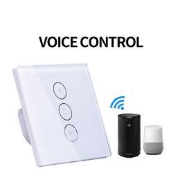 Wifi Electric Australia - voicer control working with Alexa google home EU Wifi Curtain Switch APP control Curtain Switch for Electric