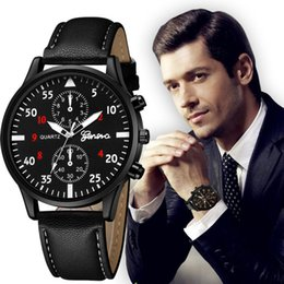 $enCountryForm.capitalKeyWord Australia - Moment # L05 Luxury Men's Quartz Wrist Watches High Quality PU Leather Watch Strap Analog Slim Dial Casual New Life Waterproof