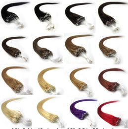 $enCountryForm.capitalKeyWord Australia - 18inch 45cm fish line hair baby hairless hair extension loop hair 0.5 g   50 g one pack generation support wholesale free shipping
