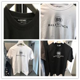 Woman Fans Australia - Send free Designer Paris fans T Shirts Mens Clothing Women Summer Luxury Casual T Shirts Cotton letter Brand Short Sleeve Medusa T Shirts BB